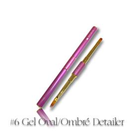 CakesInc.Nails - Gel Detailer (#6 Gel Oval / Ombré Detailer)