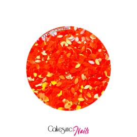 Glitter.Cakey - Hot Peachy 'THE PETALS'