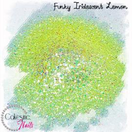 Glitter.Cakey - Funky Iridescent Lemon