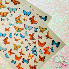 Glitter.Cakey - Autumn Butterflies 'Water Decals 144'
