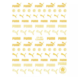 Glitter.Cakey - Gold PumPum Large Stickers