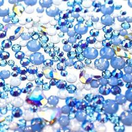 Bluestreak Crystals -Ice Queen Mix (Preciosa)