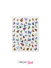 Glitter.Cakey - Holographic Butterfly Stickers (Z-D3712)