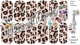 Queen of Decals - B.I.G. leopard spots (full cover)
