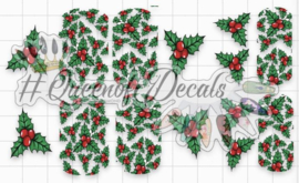 Queen of Decals - Holly & Berries collab Natasha Newton  (The Ultimate)