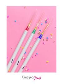 CakesInc.Nails - Liner Detailer Set '3pcs'