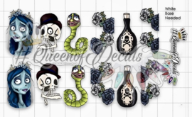 Queen of Decals - Corpse Bride 'NEW RELEASE'