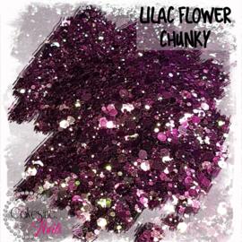 Glitter.Cakey - Lilac Flower 'CHUNKY CHAMELEON'