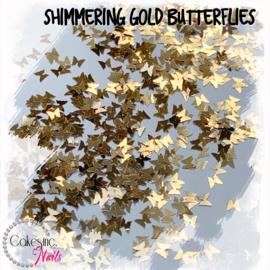 Glitter.Cakey - Shimmering Gold Butterflies