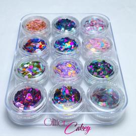 Glitter.Cakey - Starter Kit Case Set