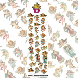 CakesInc.Nails - Cherubs Angels 'NAIL DECALS