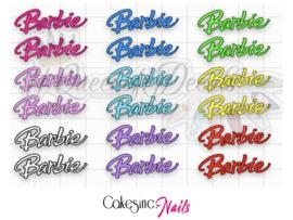 Queen of Decals - Barbie Font 'NEW RELEASE'