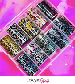 CakesInc.Nails - Transfer Foil Set #005 'Animal Prints'