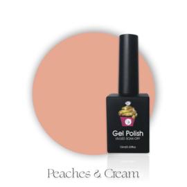CakesInc.Nails -  Gel Polish '#020 Peaches & Cream'