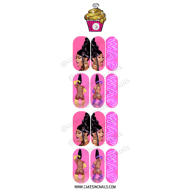 CakesInc.Nails - W.A.P 'NAIL DECALS'