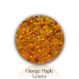 Glitter Blendz - Orange Maple Leaves