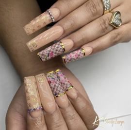 CakesInc.Nails - Transfer Foil Set #001 💖 'Luxury Inspired'