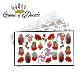 Queen of Decals - Hail Mary 'NEW RELEASE'