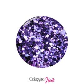 Glitter.Cakey - Orchid 'METALLIC DOTS'