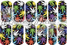 Queen of Decals - Hemp Multi Bright 'NEW RELEASE'