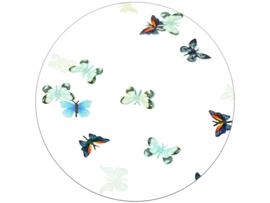 Glitter.Cakey - Pastel Mint & Blue Butterflies 'THE SLICES'