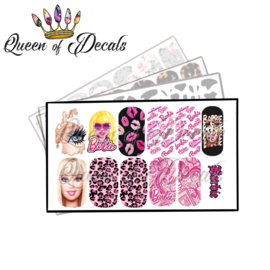 Queen of Decals - Barbie Girl 'NEW RELEASE'