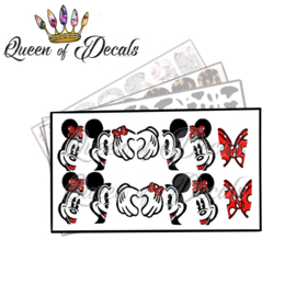 Queen of Decals - Mousy Love 'NEW RELEASE'