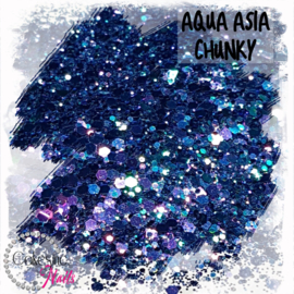 Glitter.Cakey - Aqua Asia 'CHUNKY CHAMELEON'
