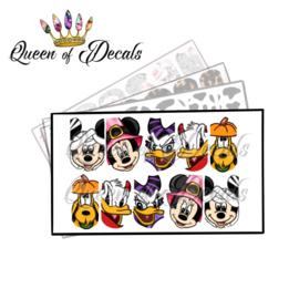 Queen of Decals - Fab 5 Halloween 'NEW RELEASE'