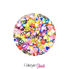 Glitter.Cakey - Love Hearts 'FIMOLANDIA 1'