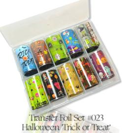 CakesInc.Nails - Transfer Foil Set #023 'Halloween/Trick or Treat'