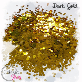 Glitter.Cakey - Dark Gold