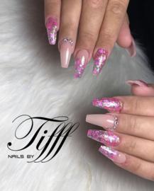 Glitter.Cakey - Neon Pink Hearts