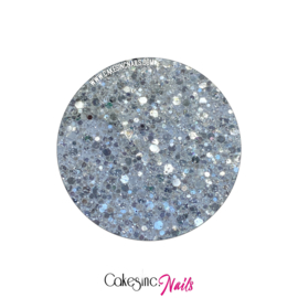 Glitter.Cakey - True White Multi