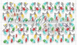 Queen of Decals - XMAS LIGHTS collab Natasha Newton  (The Ultimate)