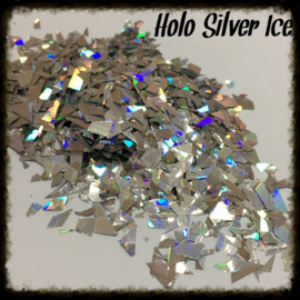 Glitter Blendz - Holo Silver Ice