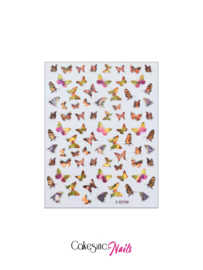Glitter.Cakey - Holographic Butterfly Stickers (Z-D3708)