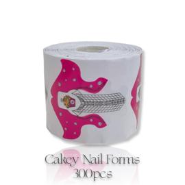 CakesInc.Nails - Cakey 💖'NAIL FORMS' 300pcs