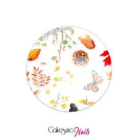 CakesInc.Nails - Transfer Foil 'Autumn Season' Negative Space