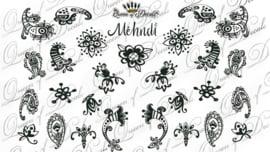 Queen of Decals - Mehndi (full cover)