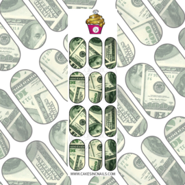 CakesInc.Nails - Money Vibes 'NAIL DECALS'