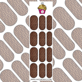 CakesInc.Nails - Knitted FF 'NAIL DECALS'