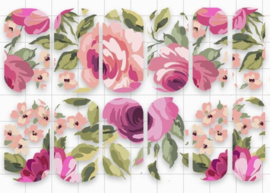 Queen of Decals - Negative Space Floral Print  'The Ultimate Collection'