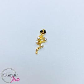 Glitter.Cakey - Gold Snake 'HALLOWEEN'