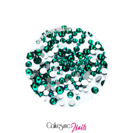 Crystal.Cakey - Dark Green 'MIXED PACK'