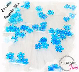 Arcoiris Flowers - Sapphire Blue -  Bi Color