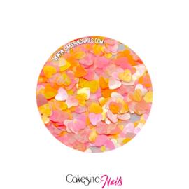Glitter.Cakey - Peachy Pastel Hearts