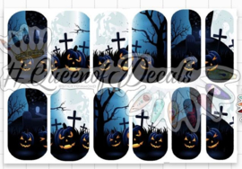 Queen of Decals - Pumpkin Gravey 'NEW RELEASE'