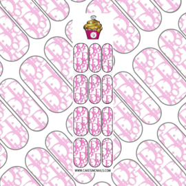 CakesInc.Nails - Pink DD 'NAIL DECALS'