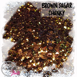 Glitter.Cakey - Brown Sugar 'CHUNKY CHAMELEON'